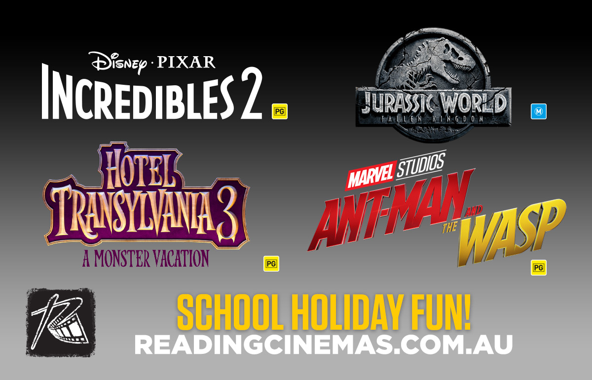 Reading Cinemas School Holiday Releases
