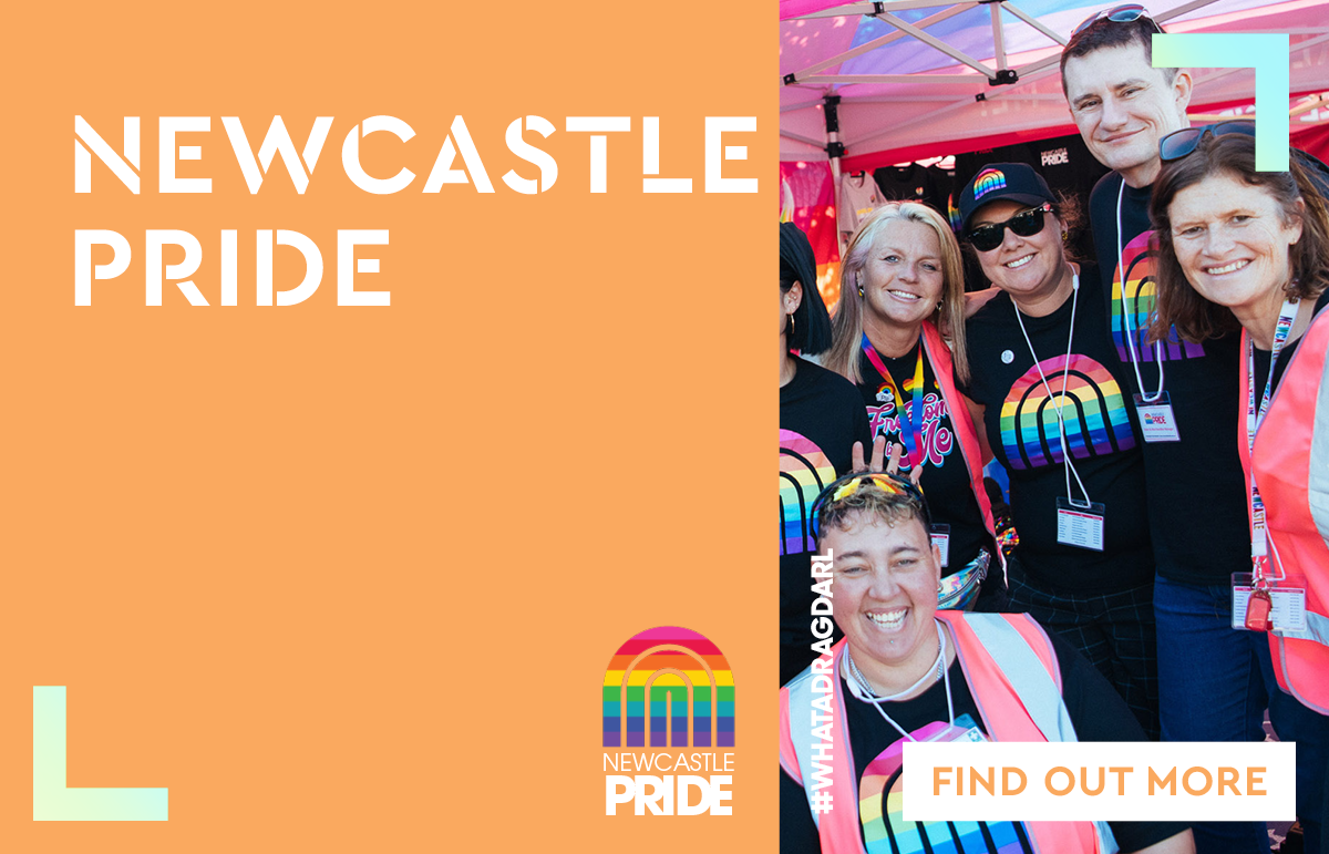 Newcastle Pride x Charlestown Square Partnership