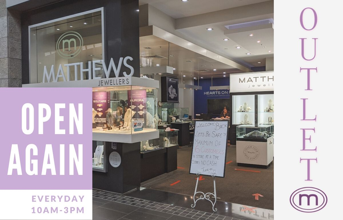 Matthews Jewellers Now Open