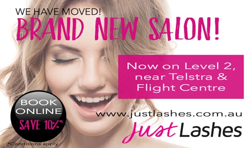 Just Lashes have now re-located...