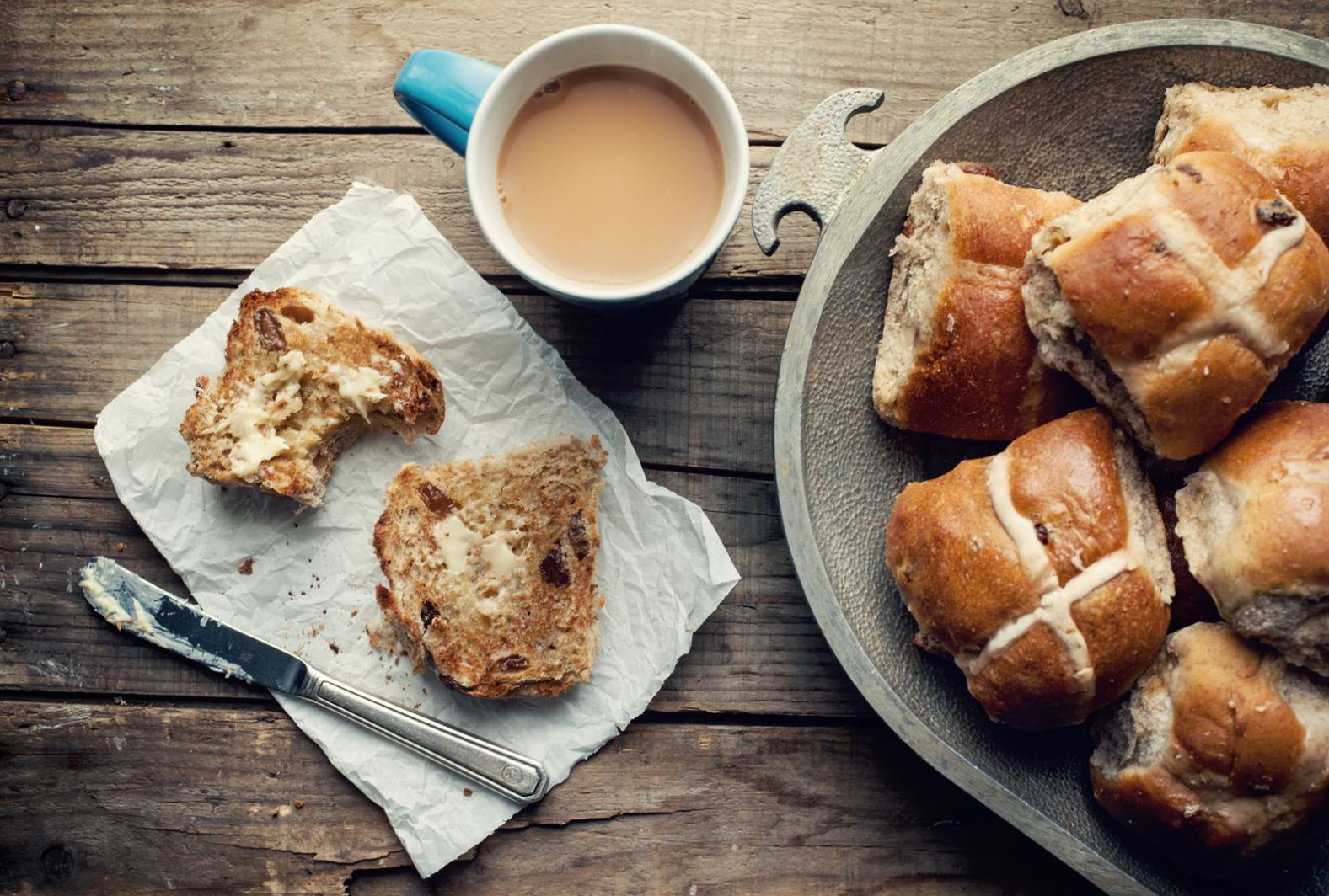 It's hot cross bun season!