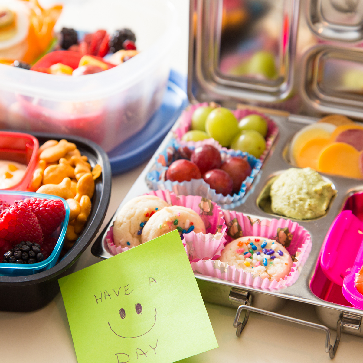 Healthy & clever bento box lunch ideas for kids