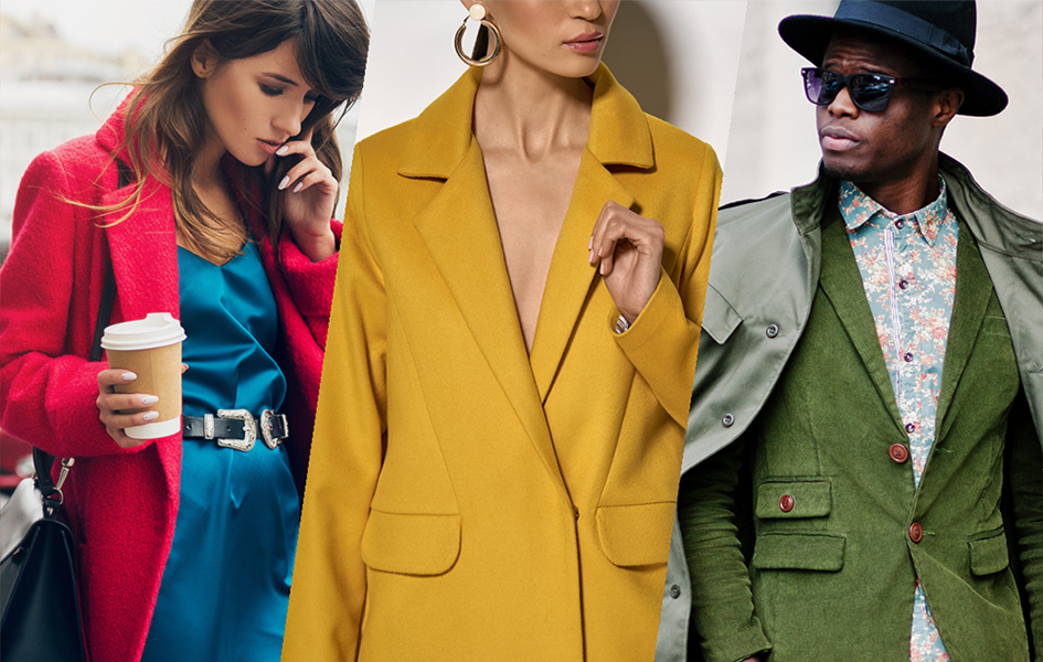 Winter Fashion - The must have colours of the season
