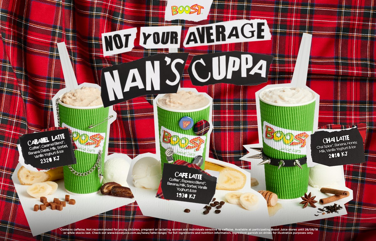 Boost CSQ Not Your Average Nans Cuppa