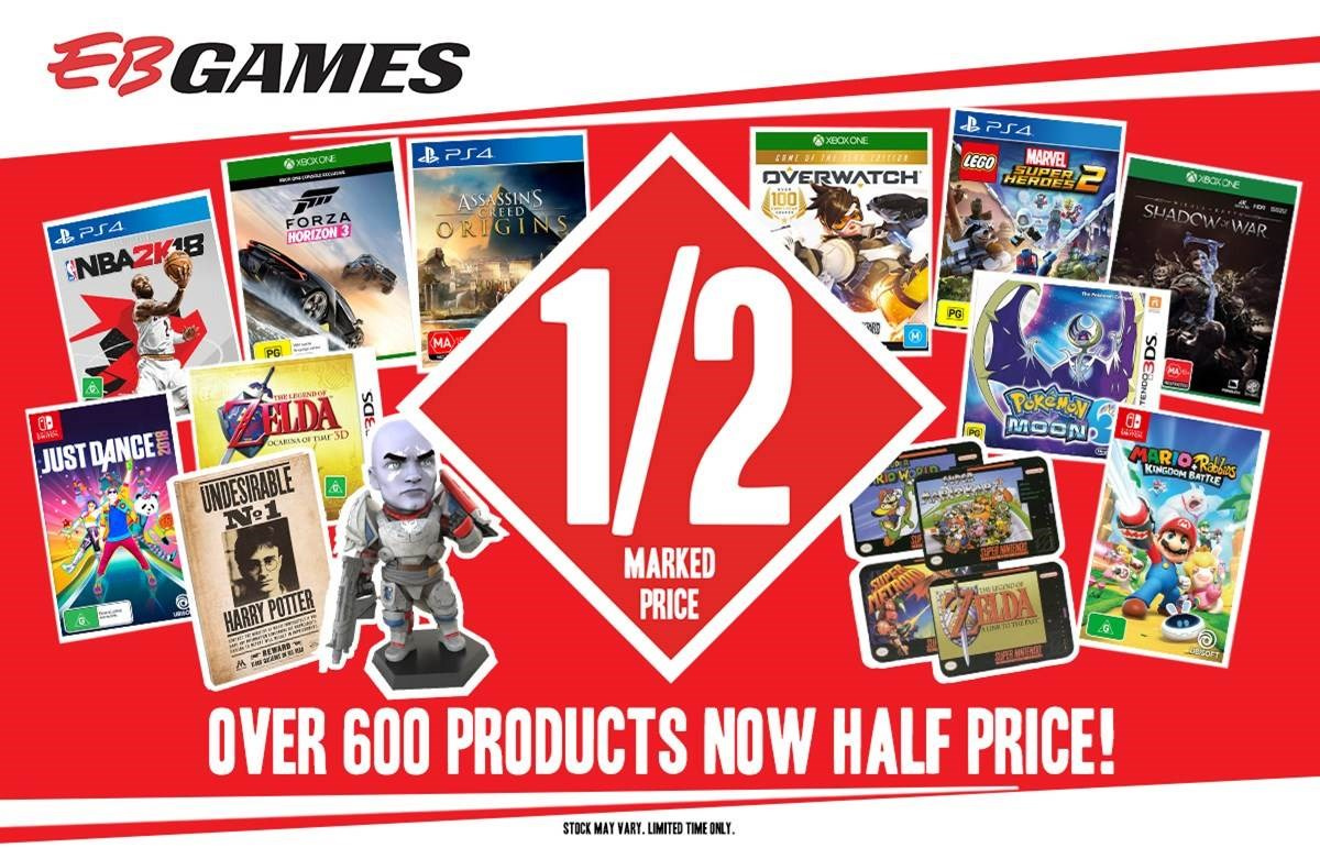 EB Games Biggest Sale EVER