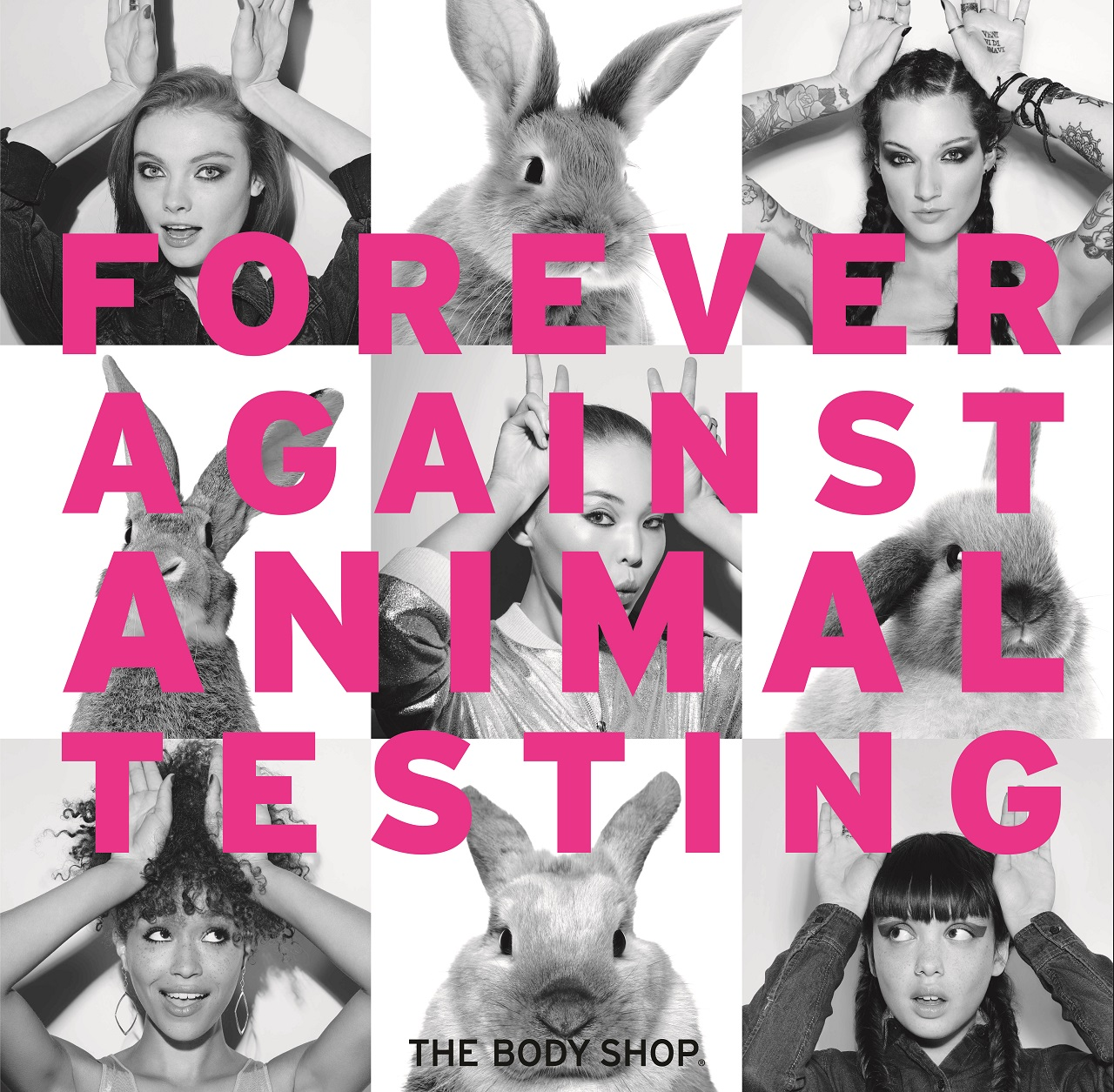 Sign The Body Shop's Petition Against Animal Testing